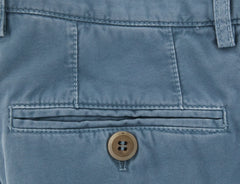 New $595 Brunello Cucinelli Light Blue Pants - Slim - (BC83179) - Parent