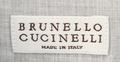 $575 Brunello Cucinelli Light Blue Cotton Shirt - Full - (MG61628C13) - Parent