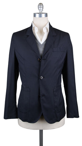 Brunello Cucinelli Navy Blue Coat