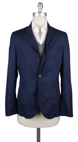 Brunello Cucinelli Dark Blue Coat