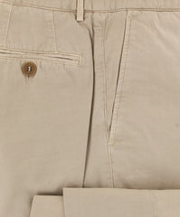 $595 Brunello Cucinelli Beige Solid Pants - Slim - (BCR0050M78WC163) - Parent
