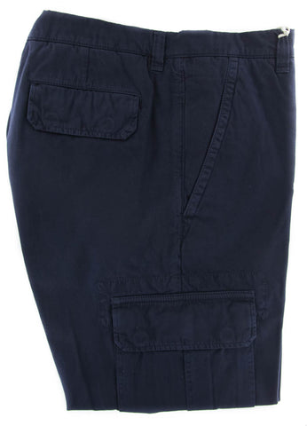 Brunello Cucinelli Navy Blue Pants