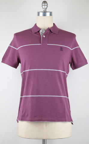 Brunello Cucinelli Purple Polo – Size: Small US