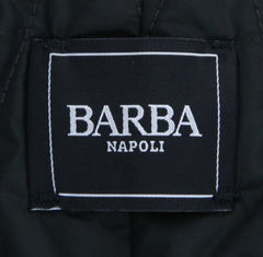 New $1275 Barba Napoli Black Solid Jacket - (AUC39I3959000) - Parent