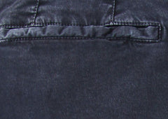 New $300 Barba Napoli Navy Blue Solid Pants - Extra Slim - (CHINO100179) - Parent