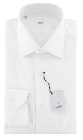 Barba Napoli  White Shirt - Full