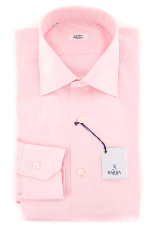 Barba Napoli Pink Shirt - Slim