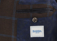 New $1200 Barba Napoli Brown Wool Blend Sportcoat - (BNSPT233B1511) - Parent