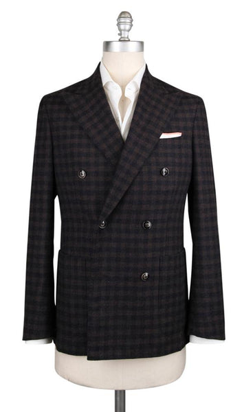 New $1200 Barba Napoli Brown Wool Blend Sportcoat - (GUDP55CAMP10B14) - Parent