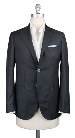 Barba Napoli Dark Gray Sportcoat