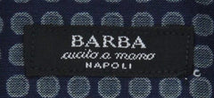New $325 Barba Napoli Navy Blue Shirt - Extra Slim - 16.5/42 - (I1U13T00000P4)
