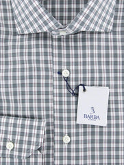 New $325 Barba Napoli Green Shirt - Extra Slim - 15.75/40 - (I1U13T0000331)