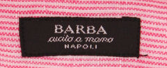 New $325 Barba Napoli Pink Striped Shirt - Extra Slim - (I12465017U) - Parent