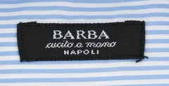 New $325 Barba Napoli Light Blue Shirt - Extra Slim - (I1U34D441001U) - Parent