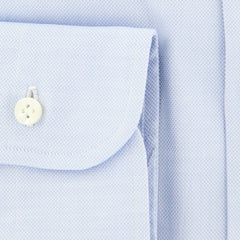 $375 Barba Napoli Light Blue Shirt - Extra Slim - (I1452539U13R) - Parent