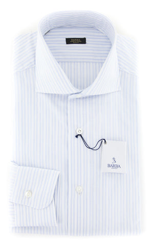 Barba Napoli Light Blue Shirt - Extra Slim