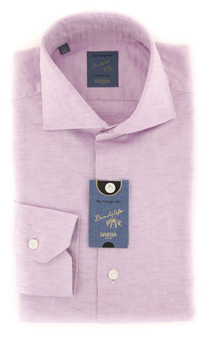 Barba Napoli Lavender Purple Shirt - Extra Slim