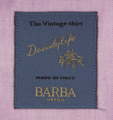 $325 Barba Napoli Lavender Purple Melange Shirt - Extra Slim - (BNLIU188U13T) - Parent