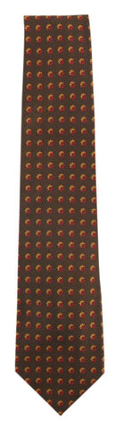 Barba Napoli Dark Brown Tie