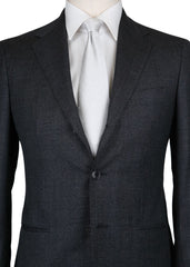New $1550 Barba Napoli Charcoal Gray Wool Suit - (UAP322S446302) - Parent