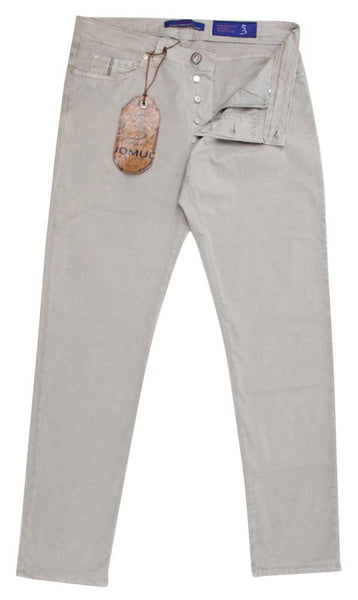 New $325 Barba Napoli Beige Pants 31/47