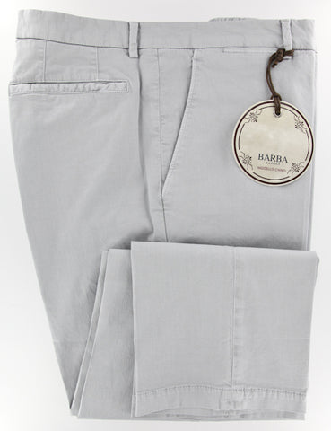 Barba Napoli Gray Pants – Size: 40 US / 56 EU