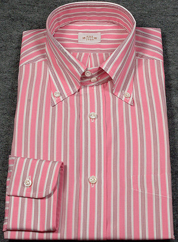Barba Napoli Flamingo Pink Shirt – Size: Medium US