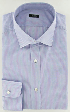Barba Napoli Lavender Purple Shirt – Size: 17.5 US / 44 EU