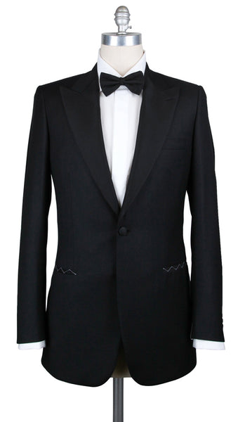 New $6000 Brioni Black Wool Tuxedo - (FLAIANO09K5821662R) - Parent