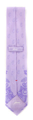 "New $230 Brioni Purple Paisley Tie - 3"" x 58"" - (BRTIEX7)"