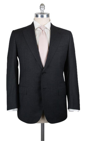 Cesare Attolini Charcoal Gray Suit