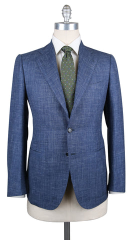 Cesare Attolini Denim Blue Suit