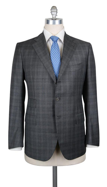 New $6300 Cesare Attolini Charcoal Gray Super 150's Suit - (CA815175) - Parent
