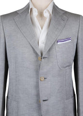 New $5400 Cesare Attolini Light Gray Sportcoat - (CA371055217) - Parent
