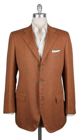 Cesare Attolini Orange Sportcoat