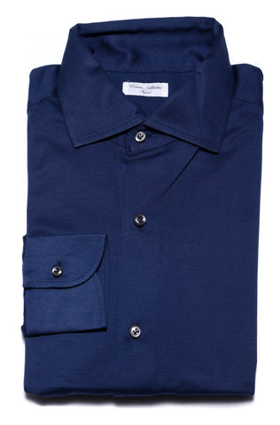 Cesare Attolini Dark Blue Shirt - Slim