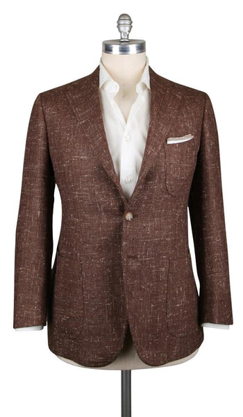 New $5100 Cesare Attolini Caramel Brown Sportcoat - (CAM37835217) - Parent