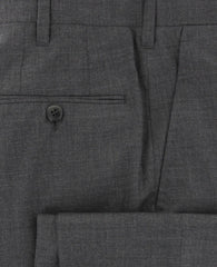 New $1275 Cesare Attolini Charcoal Pants - Slim - (CAMPUW0SPMA02G11) - Parent