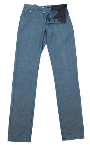 Cesare Attolini Denim Blue Pants