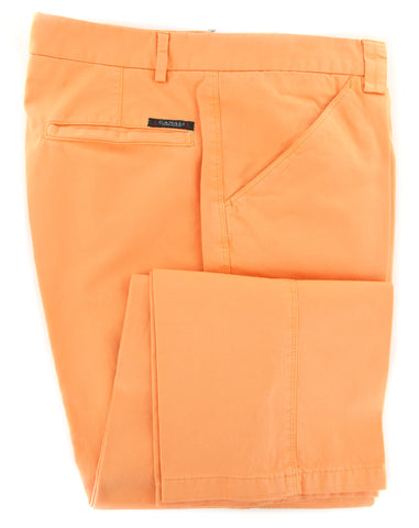 Canali Orange Pants
