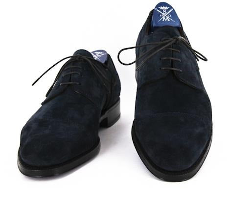 Sutor Mantellassi Navy Blue Shoes – Size: 7 US / 6 UK