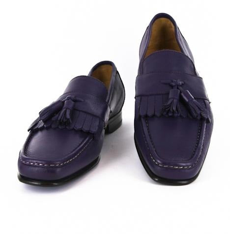 Sutor Mantellassi Purple Shoes – Size: 9 US / 8 UK
