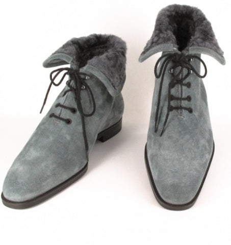 Sutor Mantellassi Gray Shoes – Size: 8 US / 7 UK
