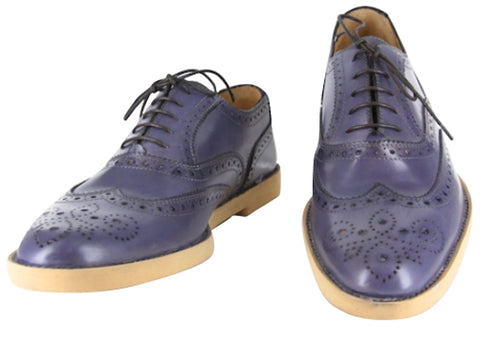 Sutor Mantellassi Blue Shoes – Size: 7 US / 6 UK
