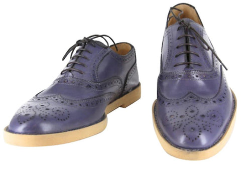Sutor Mantellassi Blue Shoes – Size: 8 US / 7 UK