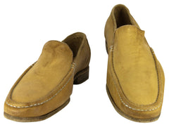 $775 Sutor Mantellassi Yellow Shoes Size 8.5 (US) / 7.5 (EU)