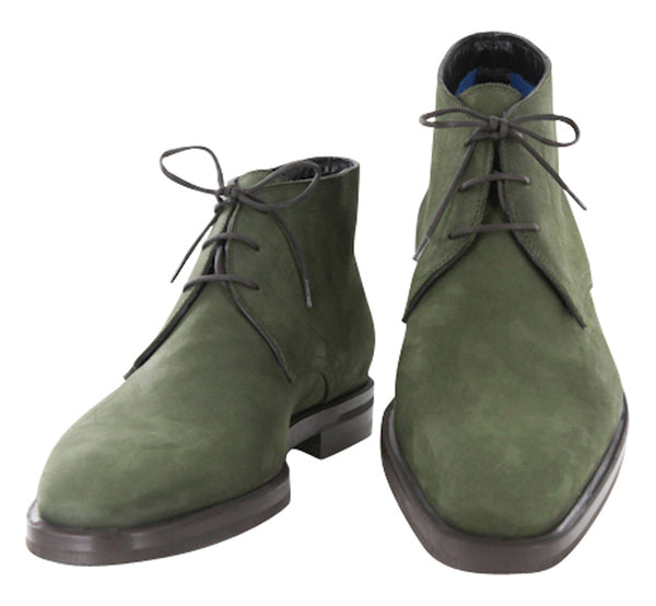 $900 Sutor Mantellassi Green Shoes Size 8 (US) / 7 (EU)