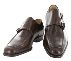 $1050 Sutor Mantellassi Brown Shoes Size 12 (US) / 11 (EU)