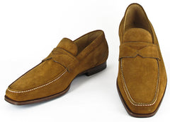 $850 Sutor Mantellassi Tan Shoes Size 7.5 (US) / 40.5 (EU)