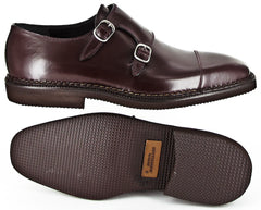 $1200 Sutor Mantellassi Brown Shoes Size 7 (US) / 40 (EU)